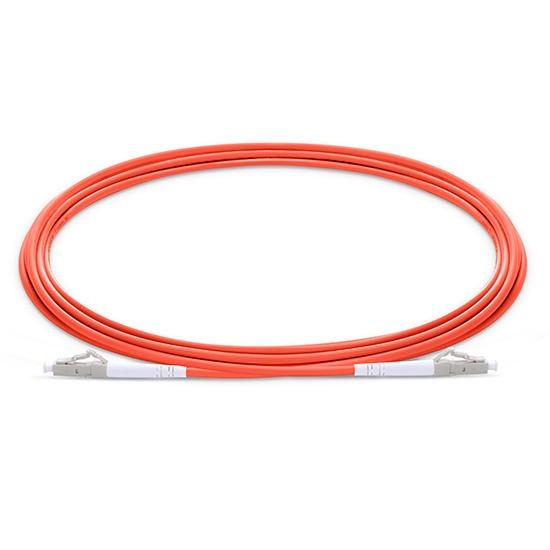 30m LC/UPC-LC/UPC 单工多模OM2光纤跳线 - 2.0mm PVC(OFNR)