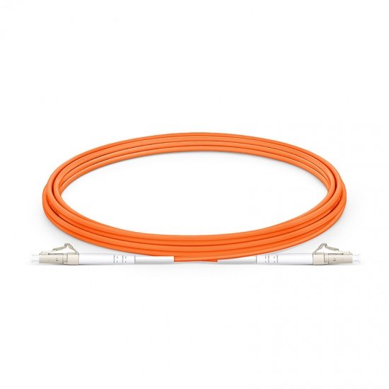 3m LC/UPC-LC/UPC 单工多模OM1光纤跳线- 2.0mm PVC(OFNR)
