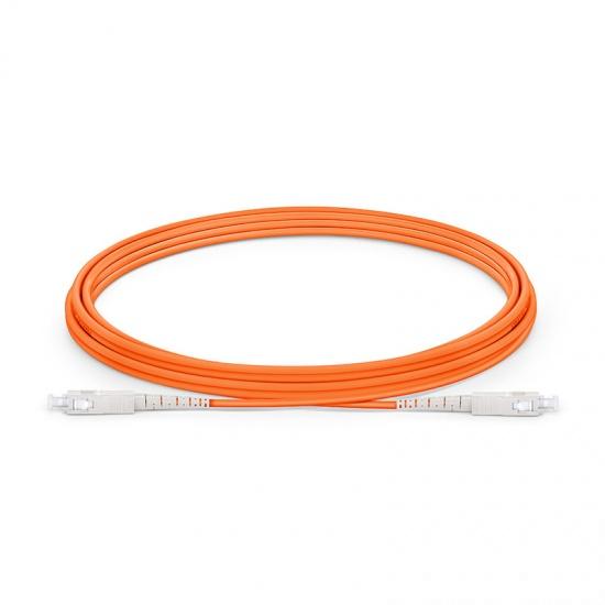 Cable/latiguillo/jumper de fibra óptica SC/UPC a SC/UPC 3m OM1 62.5/125 simplex multimodo PVC 2.0mm