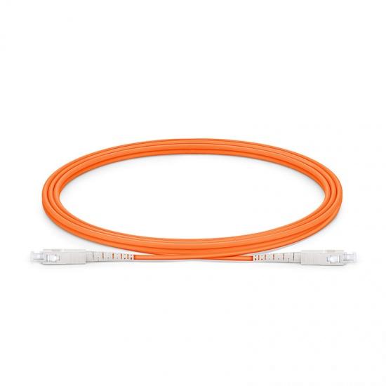Cable/latiguillo/jumper de fibra óptica SC/UPC a SC/UPC 2m OM1 62.5/125 simplex multimodo PVC 2.0mm
