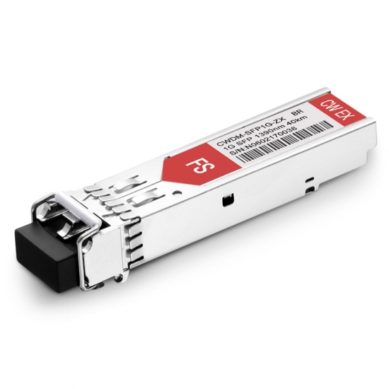 Brocade E1MG-CWDM40-1390 1390nm 40km Kompatibles 1000BASE-CWDM SFP Transceiver Modul, DOM