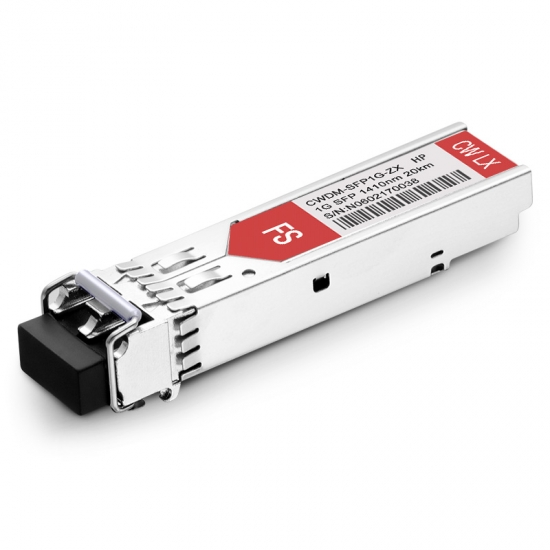 HPE SFP20K-CW1410 1410nm 20km Kompatibles 1000BASE-CWDM SFP Transceiver Modul, DOM