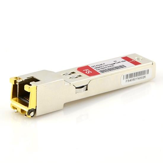 博科(Brocade)兼容E1MG-100FX-T SFP百兆电口模块 100m