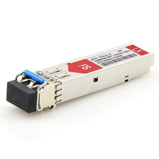 博科(Brocade)兼容E1MG-100FX-10 SFP百兆光模块 1310nm 10km