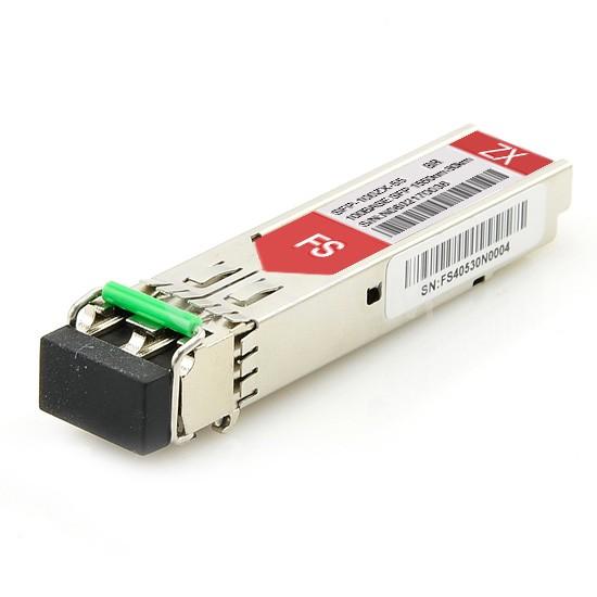 博科(Brocade)兼容E1MG-100ZX-80 SFP百兆光模块 1550nm 80km