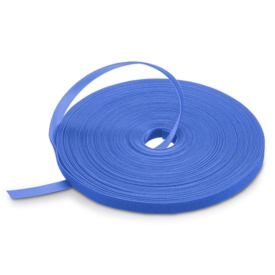 背对背魔术贴扎带-蓝色 25m/卷