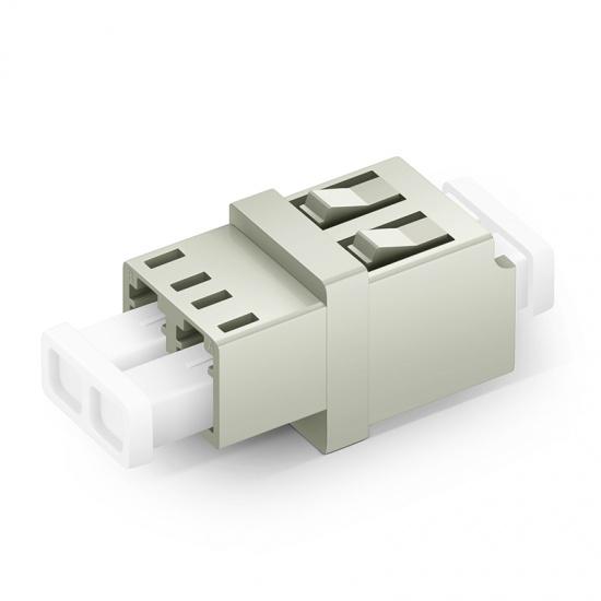 LC/UPC-LC/UPC 双工多模OM1/OM2标准型光纤适配器