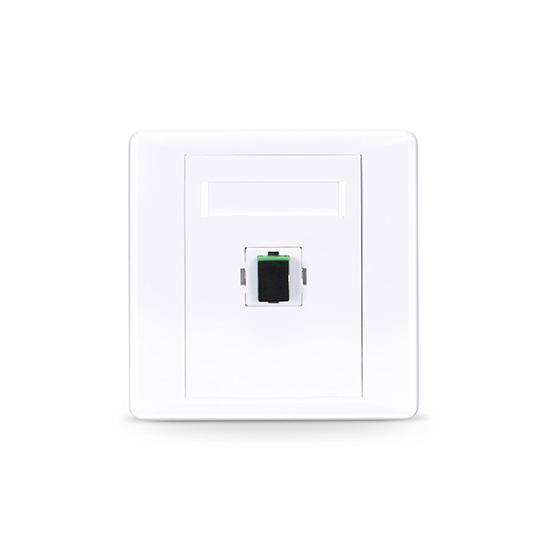 SC/APC单口直面光纤面板,单模OS2