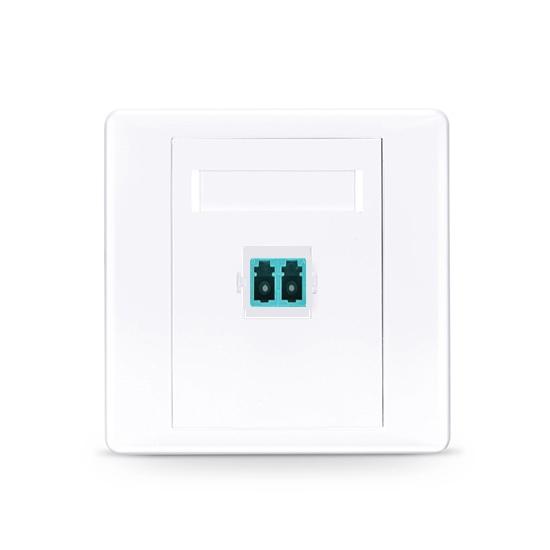 LC/UPC单口直面光纤面板,多模 OM3/OM4