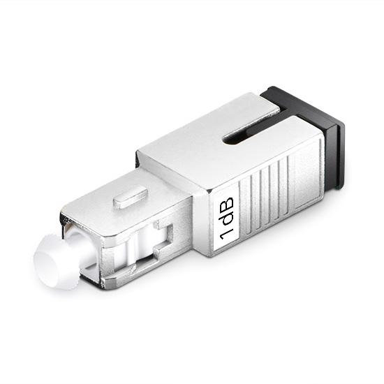 SC/UPC  阴阳式 单模 固定式光纤衰减器 1dB