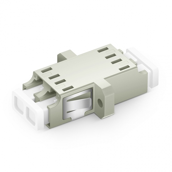 LC/UPC-LC/UPC 双工多模OM1/OM2光纤适配器