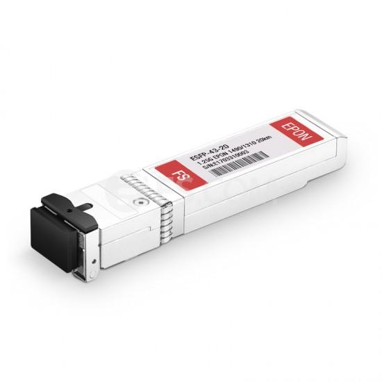 EPON OLT SFP光模块 1490nmTx/1310nmRx 1.25GTx/1.25GRx 20km DDM