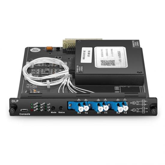 1 + 1光线路保护开关(OLP),用于FMT多业务传输系统,插卡式