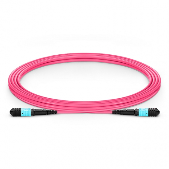Cable troncal fibra óptica Senko MPO-Senko MPO 12 fibras tipo B 3m OM4/OM3 50/125 LSZH 3.0mm