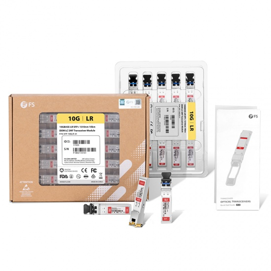 10GBASE-T SFP+ Copper RJ-45 30m Transceiver Module for FS Switches