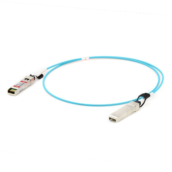 5m (16ft) Dell (DE) CBL-25GSFP28-AOC-5M Compatible 25G SFP28 Active Optical Cable