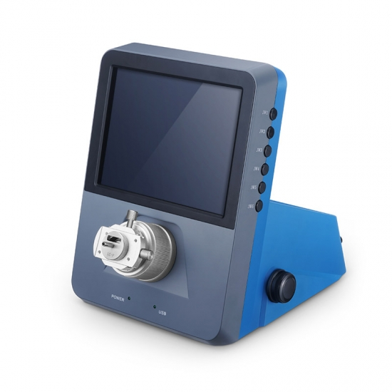 200X 台式三维光纤检测显微镜,带SFP&LC&SC适配器