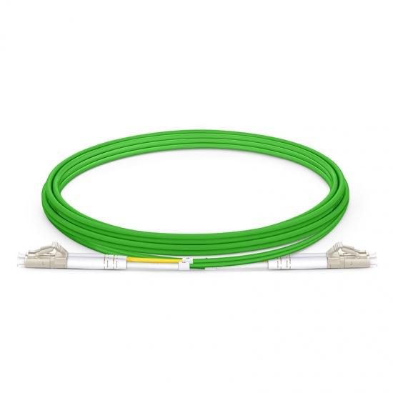2m LC /UPC- LC /UPC双工多模OM5带宽光纤跳线-2.0mm PVC(OFNR)