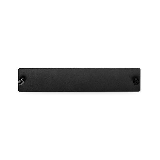 "Blank Plate for FMU 2-slot 1U 19"" Rack Chassis"