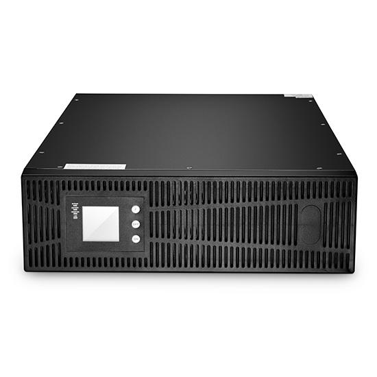 10kVA/8kW,单相双转换在线机架式UPS,不含电池