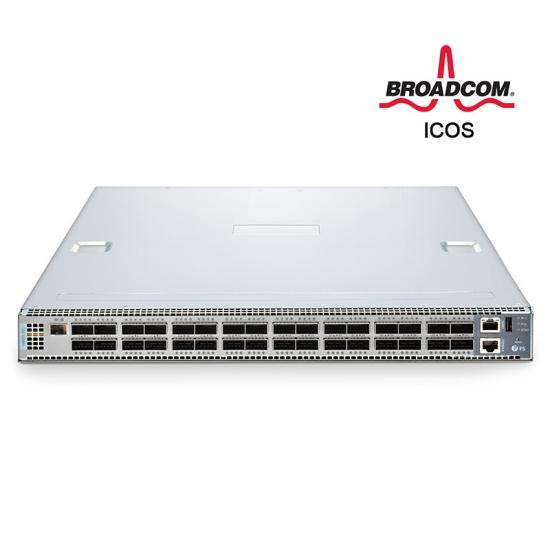 N8500-32C 100G  Spine/Core 三层交换机(32*100G),内置ICOS,5年质保