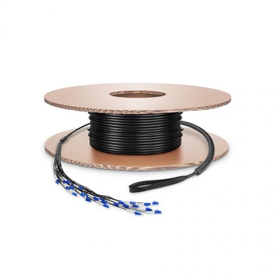 定制1-24芯 单模军用级野战光纤跳线