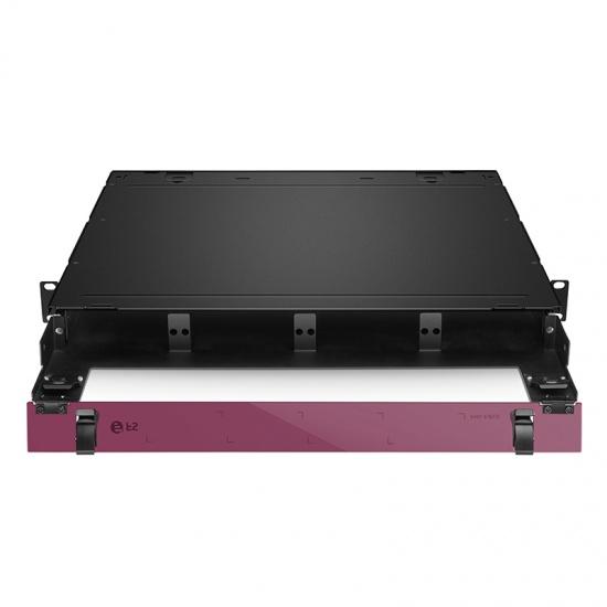 升级版 1U机架式高密度光纤配线箱