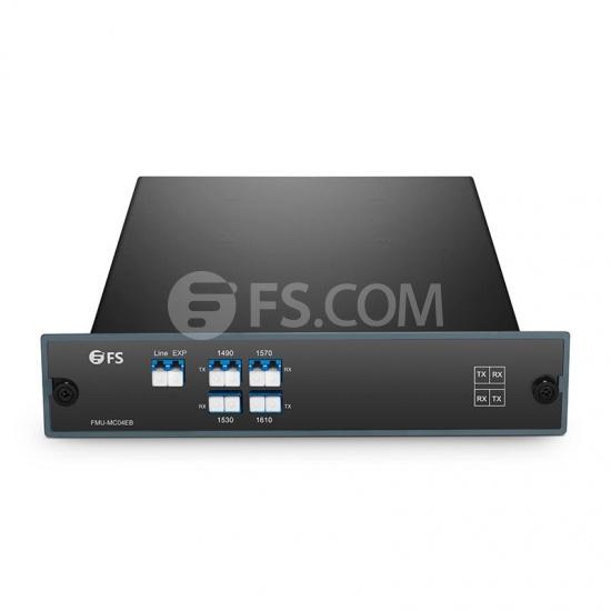 定制单纤 CWDM 粗波分复用器,B端