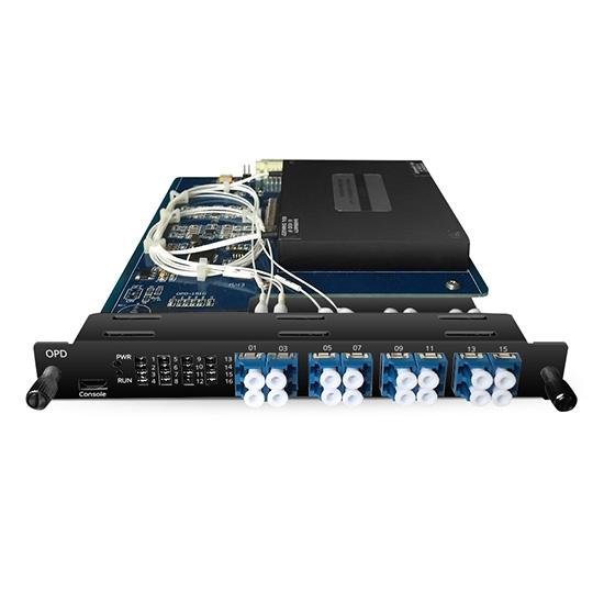 Detección de energía óptica personalizada OPD (AIU), tipo de tarjeta plug-in para el sistema de transporte multiservicio FMT