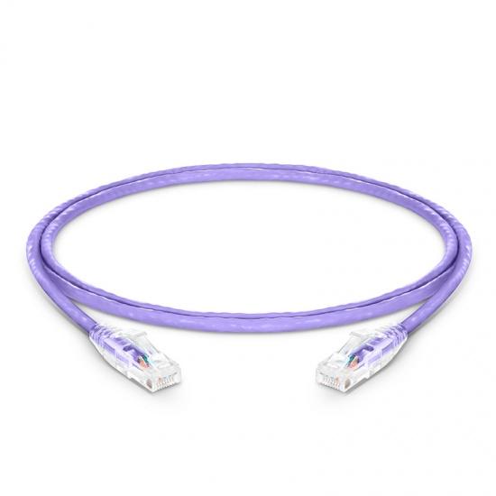 4ft (1.2m) Cat5e Snagless Unshielded (UTP) PVC CM Ethernet Network Patch Cable, Purple