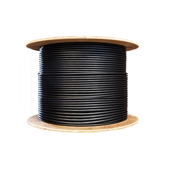 0.175km 24 Fibers Singlemode 9/125 OS2, LSZH Rated, Single Armored Double Jacket, Indoor/Outdoor Tight-Buffered Distribution Cable