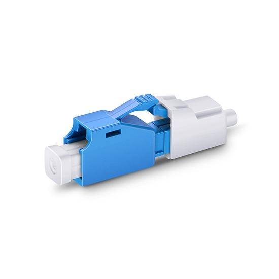 LC/UPC Singlemode Fixed Fiber Optic Attenuator, Male-Female, 8dB