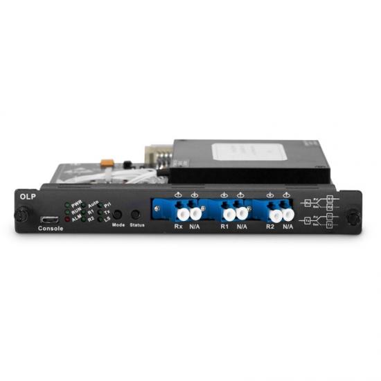 光线路保护开关(OLP),单纤双向,插卡式