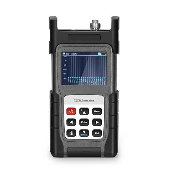 FOPM-110 CWDM 光功率计 (+5~-40dBm) ,带 2.5mm+FC+SC+ST 连接头