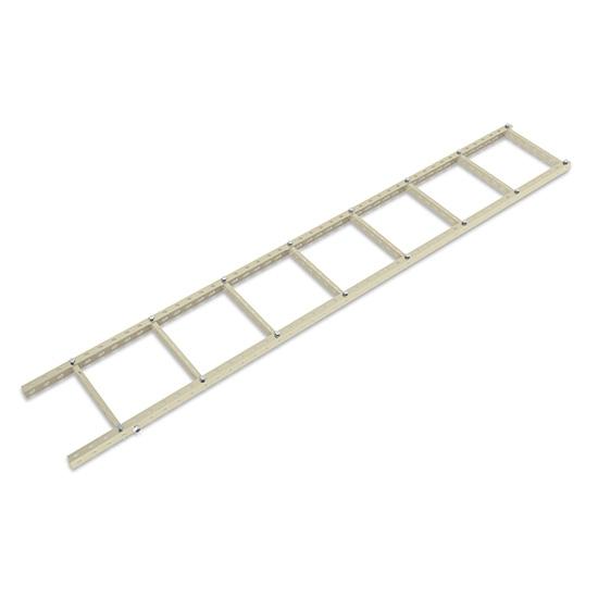 400mm U Steel Cable Ladder Support Frame Kit