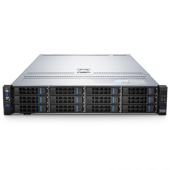 RS-7188 2U, servidor de racks de 2 sockets con dos Intel® Xeon® Silver 4112 para cargas de trabajo de base de datos en SMB
