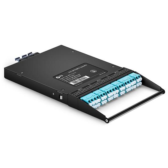 36芯 3xMTP-18xLC 多模OM4超高密度MTP / MPO光纤配线盒