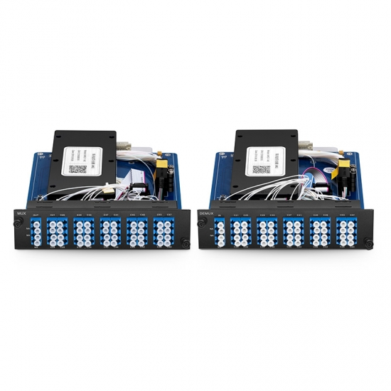40 Channels C21-C60 Dual Fiber DWDM Mux Demux, Pluggable Module for FMT 4000E, TAWG, LC/UPC