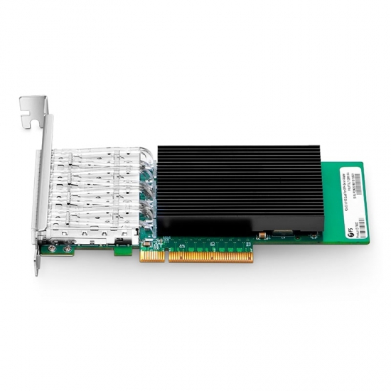 PCIe 3 0 x8 Quad Port 10 Gigabit SFP+ Ethernet Network Interface Card