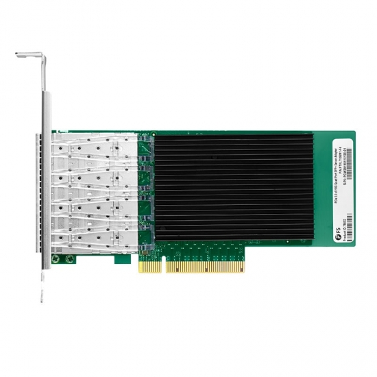 Intel® XL710-BM1 Quad-Port 10 Gigabit SFP+ PCIe 3.0 x8, Ethernet Network Interface Card
