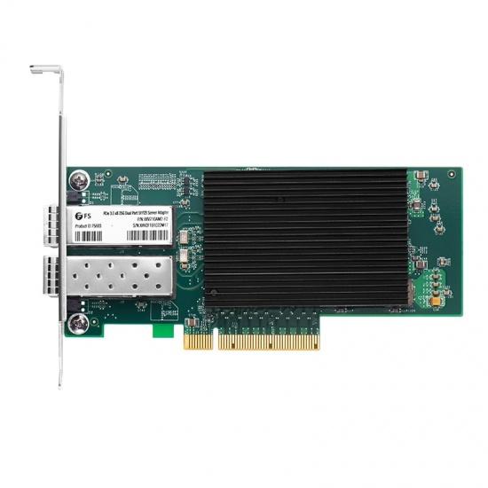 Intel® XXV710 双端口25G SFP28 PCIe 3.0 x8, 光纤网卡