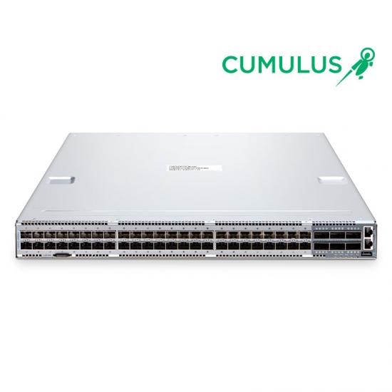 N8500-48B6C 25G SDN交换机(48*25Gb+6*100Gb),内置Cumulus®Linux®操作系统,5年质保