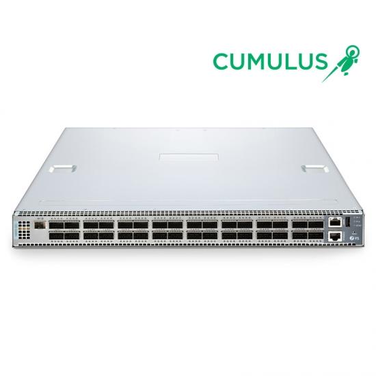 N8500-32C 100G SDN交换机(32 * 100G) ,内置Cumulus®Linux®操作系统,5年质保