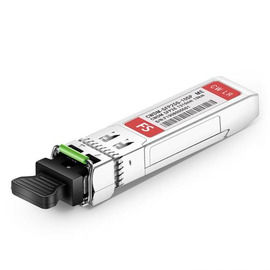 Módulo transceptor CWDM SFP28 25G compatible con Mellanox CWDM-SFP25G-10SP, 1310nm 10km DOM