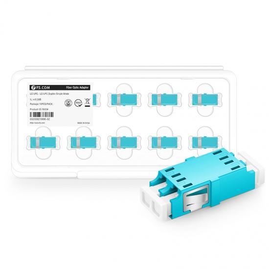 LC/UPC-LC/UPC 双工多模OM3光纤适配器电信级(10个/盒)
