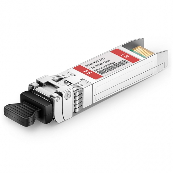 Customised 25GBASE-LR SFP28 1310nm 10km DOM Transceiver Module