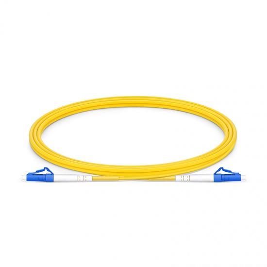 1.5M LC/UPC-LC/UPC单工单模OS2光纤跳线-2.0mm PVC(OFNR)