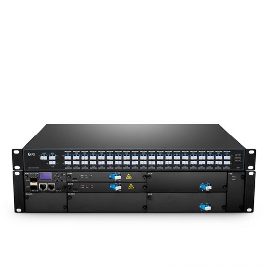 40 Channels DWDM Dual Fiber End-to-End Transport Platform (20-140km)