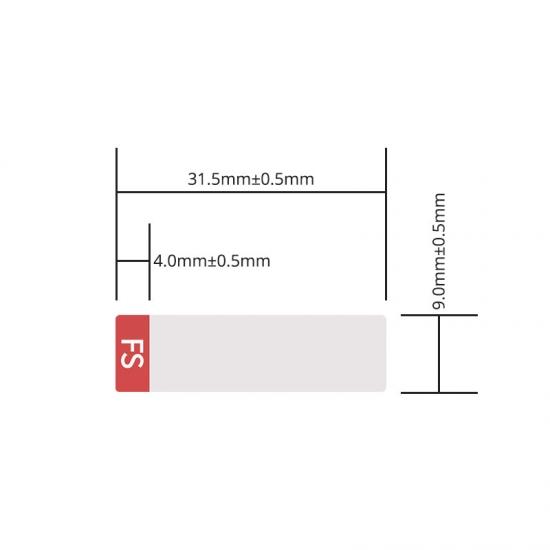 定制标签 专用于SFP 3G数字视频光模块 2000pcs