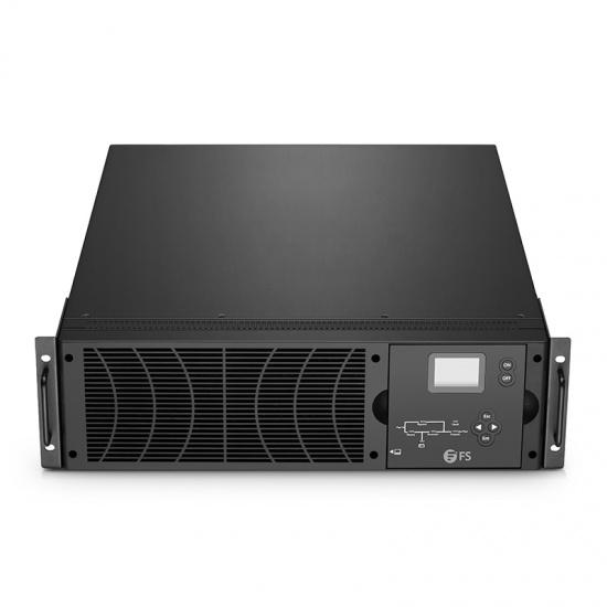 9kW/10kVA,208V 单相双变换在线式UPS不间断电源,不含电池,机架式&塔式